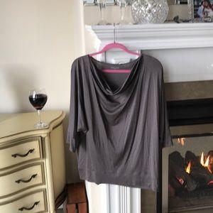 Eileen Fisher, XL, 70% silk, blousy Top